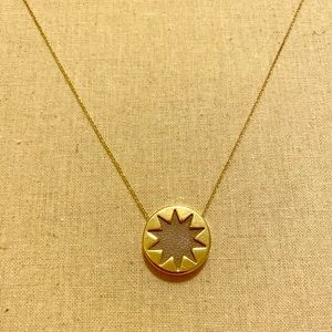 House of Harlow 1960 Starburst Gold Necklace
